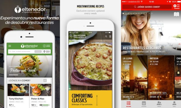Las mejores apps de gastronomía en 2016